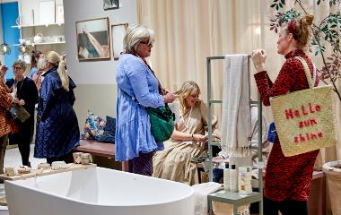 The 72nd edition of the interior and design show Formland saw extensive interest from both Denmark and abroad. Photo: MCH/Tony Brøchner