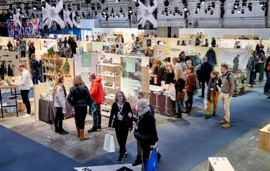 Formland Spring and the entrepreneurial CREATORS COMMUNITY takes place from 30 January to  2 February 2020 in MCH Messecenter Herning, Denmark. Photo: MCH/Tony Brøchner.